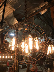 Wrecking Ball 5-Light Chandelier-R