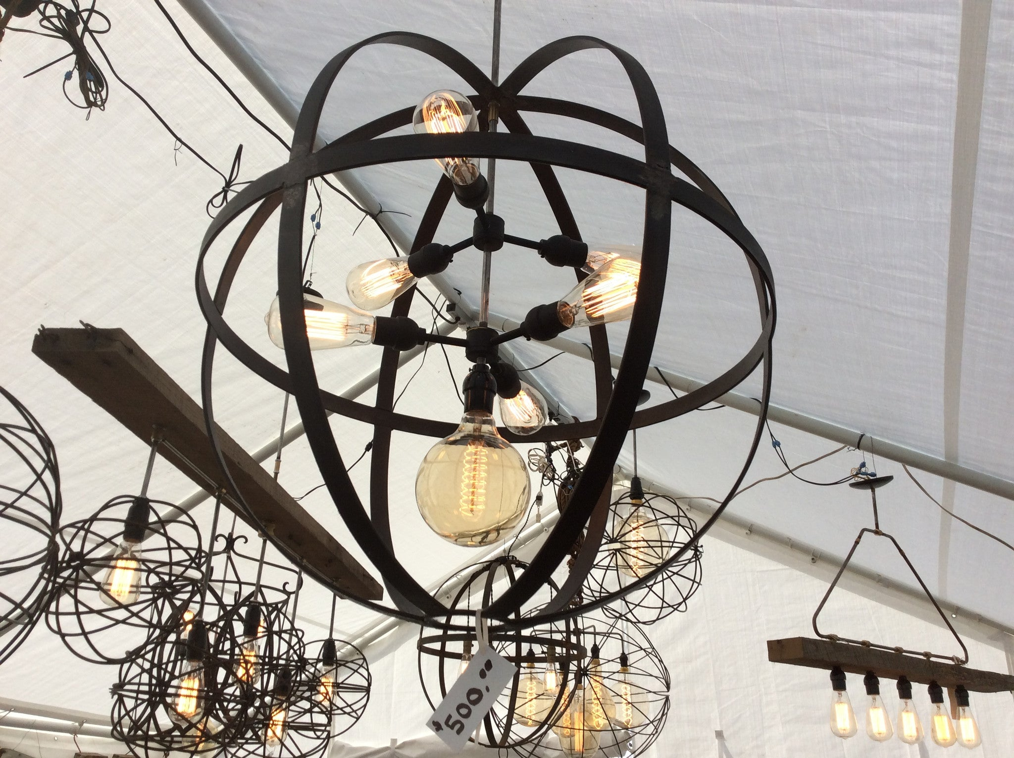 chandeliers of classic chandelier orb chrome shades products light