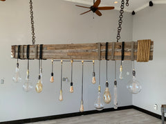 15 Light Linear Beam Chandelier-R