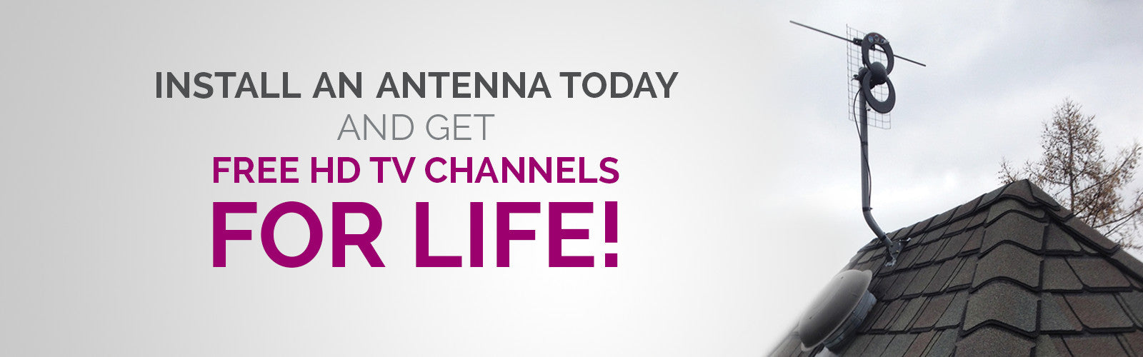 Free HD TV Channels for Life!