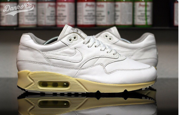 Dank Customs White Leather Max 1/90 Hybrid