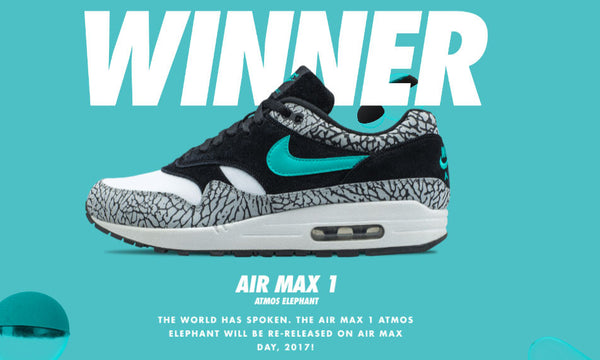 Air Max 1 x Atmos Reissue, its nearly time for 1 of the greats to return....