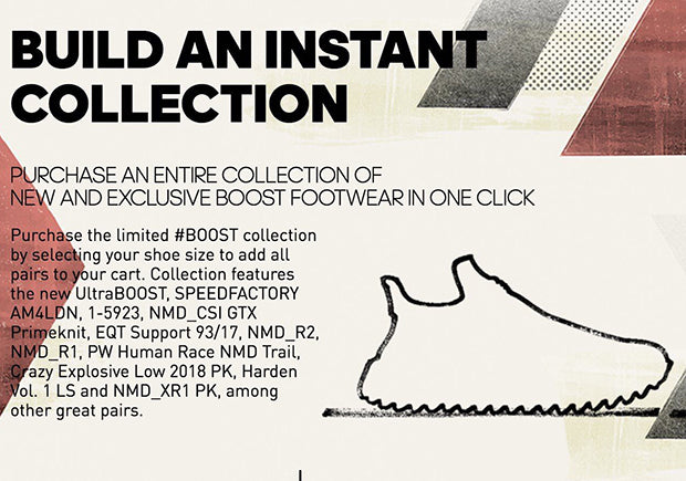 adidas 'Instant Boost Collection'