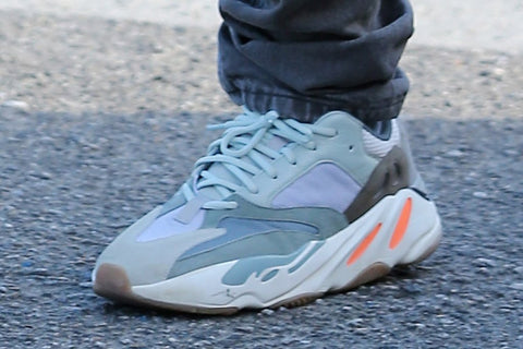6a60e4ad6971a Kanye West was seen strolling the streets of Los Angeles days ago in this  unseen colourway of the Yeezy Boost 700 Waverunner.