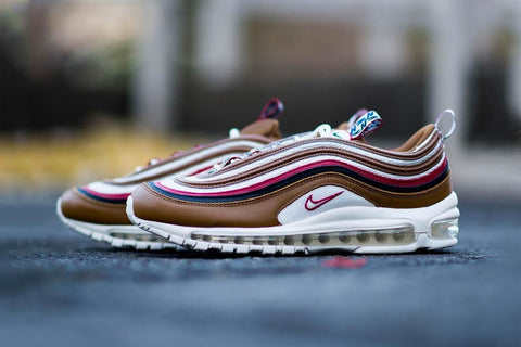 Nike is adding a multicoloured Air Max 97 to the pack which is already made  up with three other colourways of the Air Max 95. b66b74668