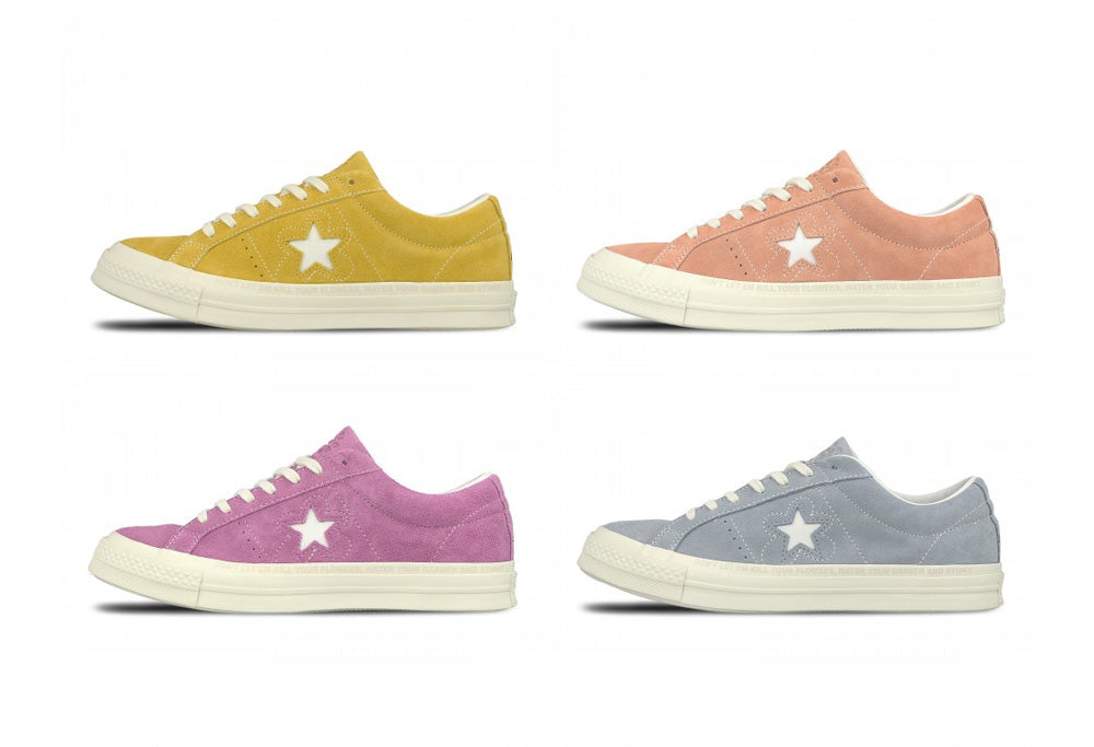 "Converse releases classic with a bit of ""Le Fleur"""