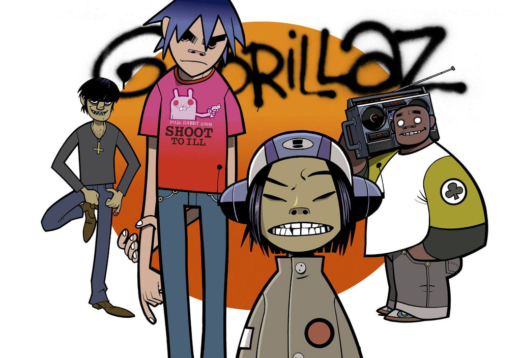 Gorillaz in Glasgow