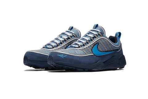 brand new 5ec67 7d621 Rumours are circulating in the ether just now about a possible new  collaboration between Nike and artist Stash. This time its an Air Zoom  Spiridon that pics ...