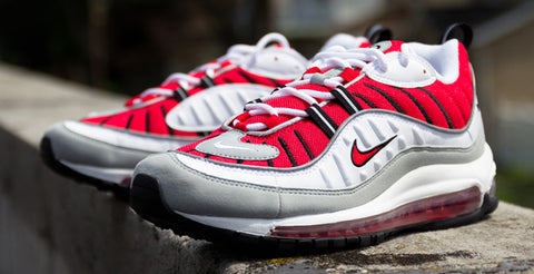 super popular f8dec 0dbdb (Nike Air Max  98, University Red, 2014)