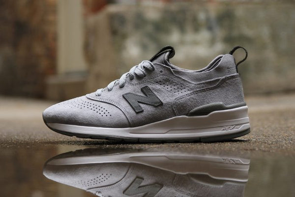 New Balance are set to release a new model of the 997 in this classic grey  colourway. However there is a twist to this model with a suede design  adding a ... 49f623398609