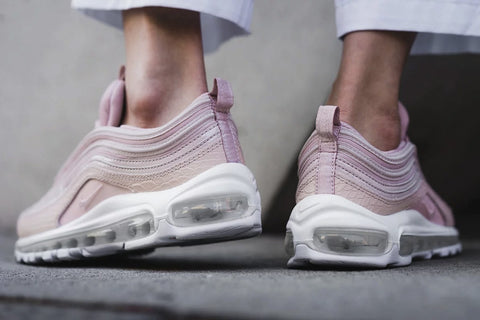 0d78a9f51d The Pack of 3 Womens Air Max 97s will be released on Friday 3rd, there is a  Black pair, Cobblestone pair and a Red Silt (Pink) pair, all utilising  premium ...