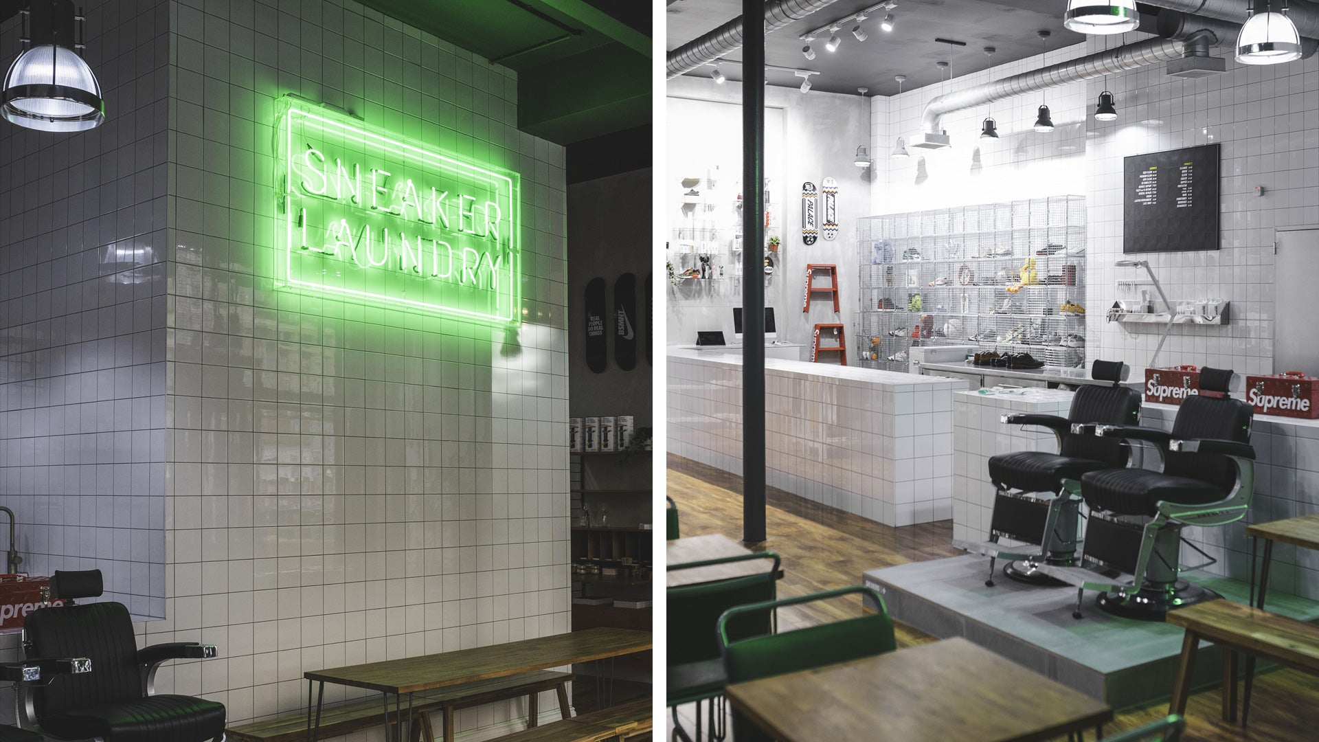 Sneaker Laundry, Café and Store
