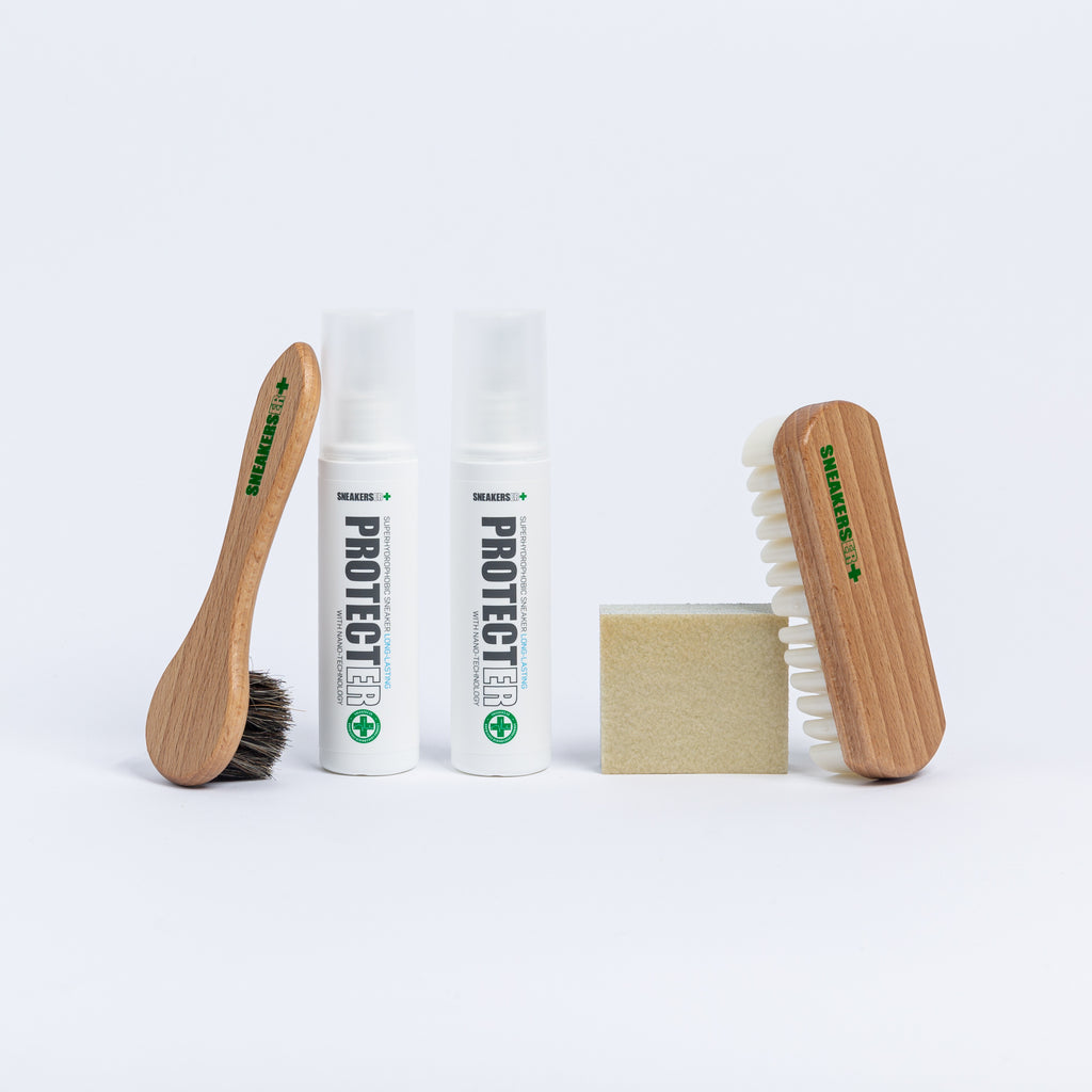 SNEAKERS ER SUEDE & LEATHER SNEAKER CARE KIT 5 PIECE