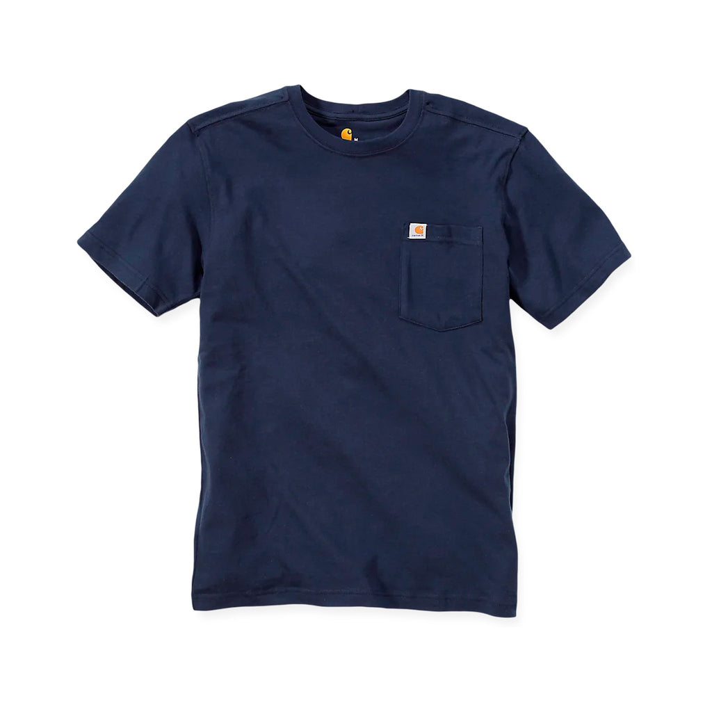Carhartt Maddock Pocket T-Shirt - Navy
