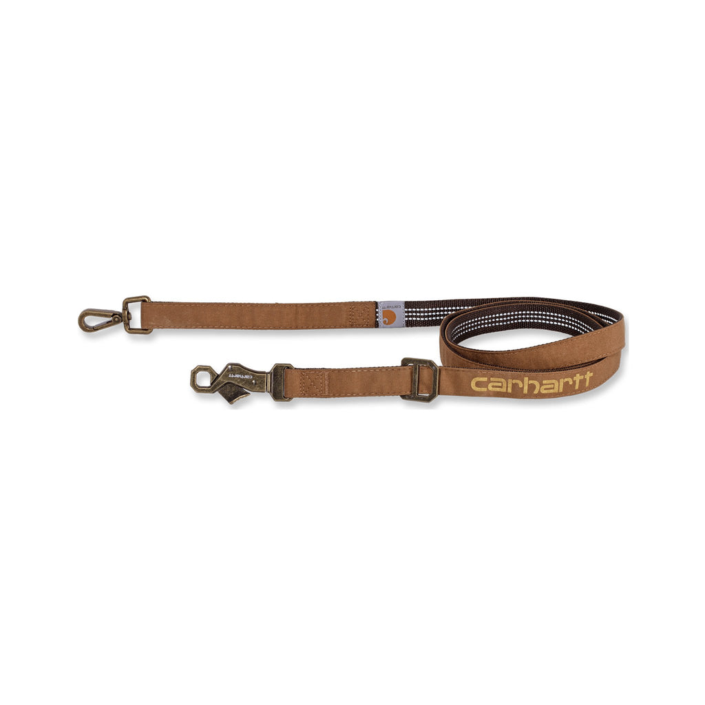 Carhartt Journeyman Dog Leash - Carhartt Brown