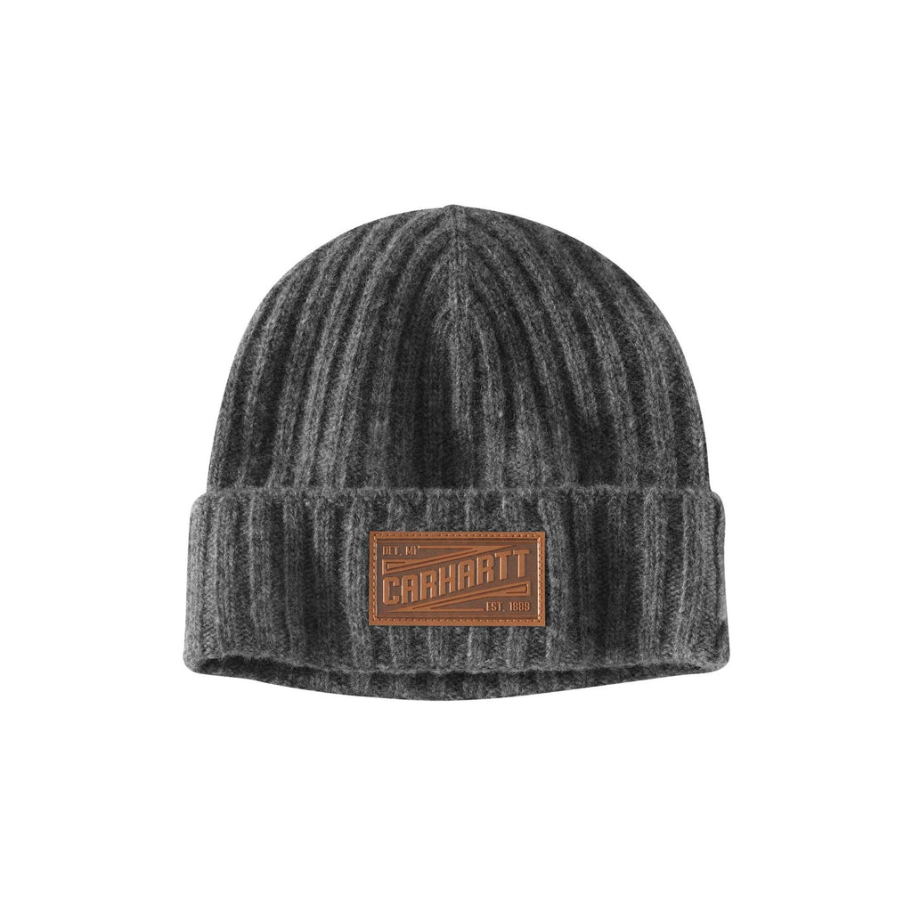 Carhartt Seaford Lambswool Hat - Heather Grey