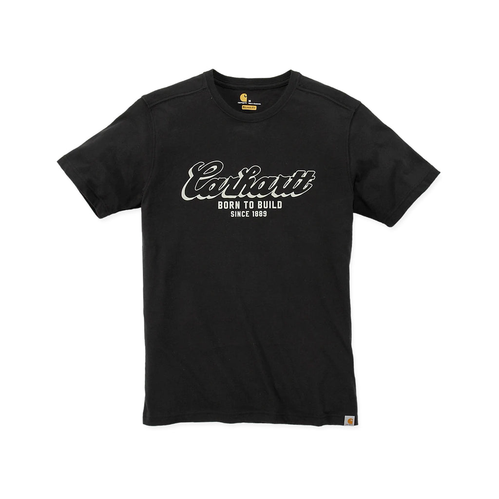 Carhartt Born To Build T-Shirt - Black
