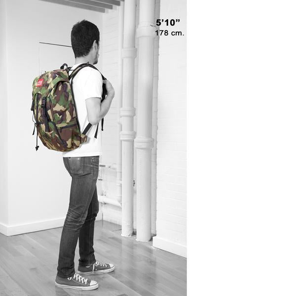Manhattan Portage Hiker Backpack Bag - Camo