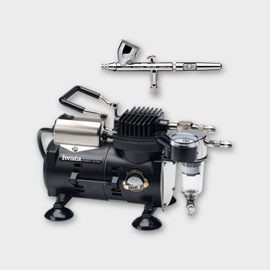 IWATA - ECLIPSE CS AIRBRUSH AND SMART JET COMPRESSOR PACK