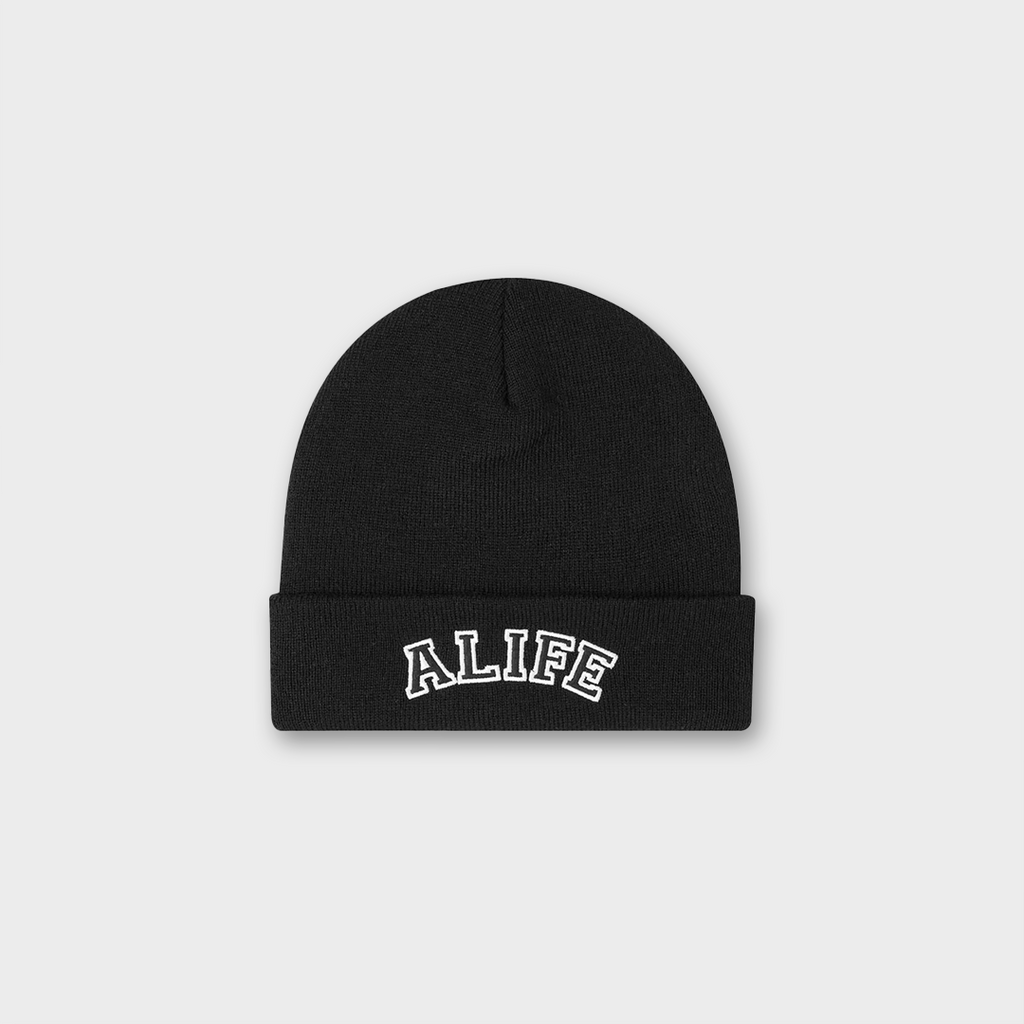 Alife New York Collegiate Beanie Hat - Black