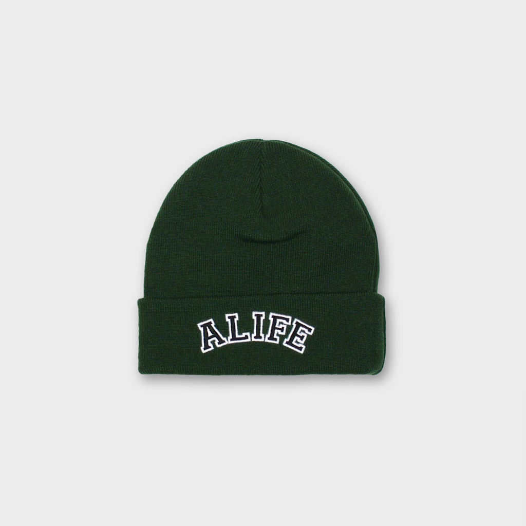 Alife New York Collegiate Beanie Hat - Green