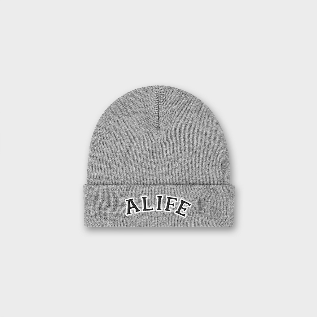 Alife New York Collegiate Beanie Hat - Grey