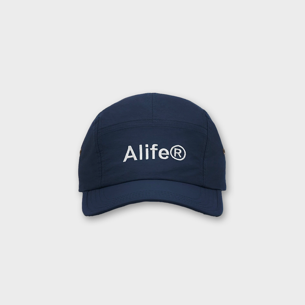 Alife New York Five Panel Generic Logo Hat - Navy