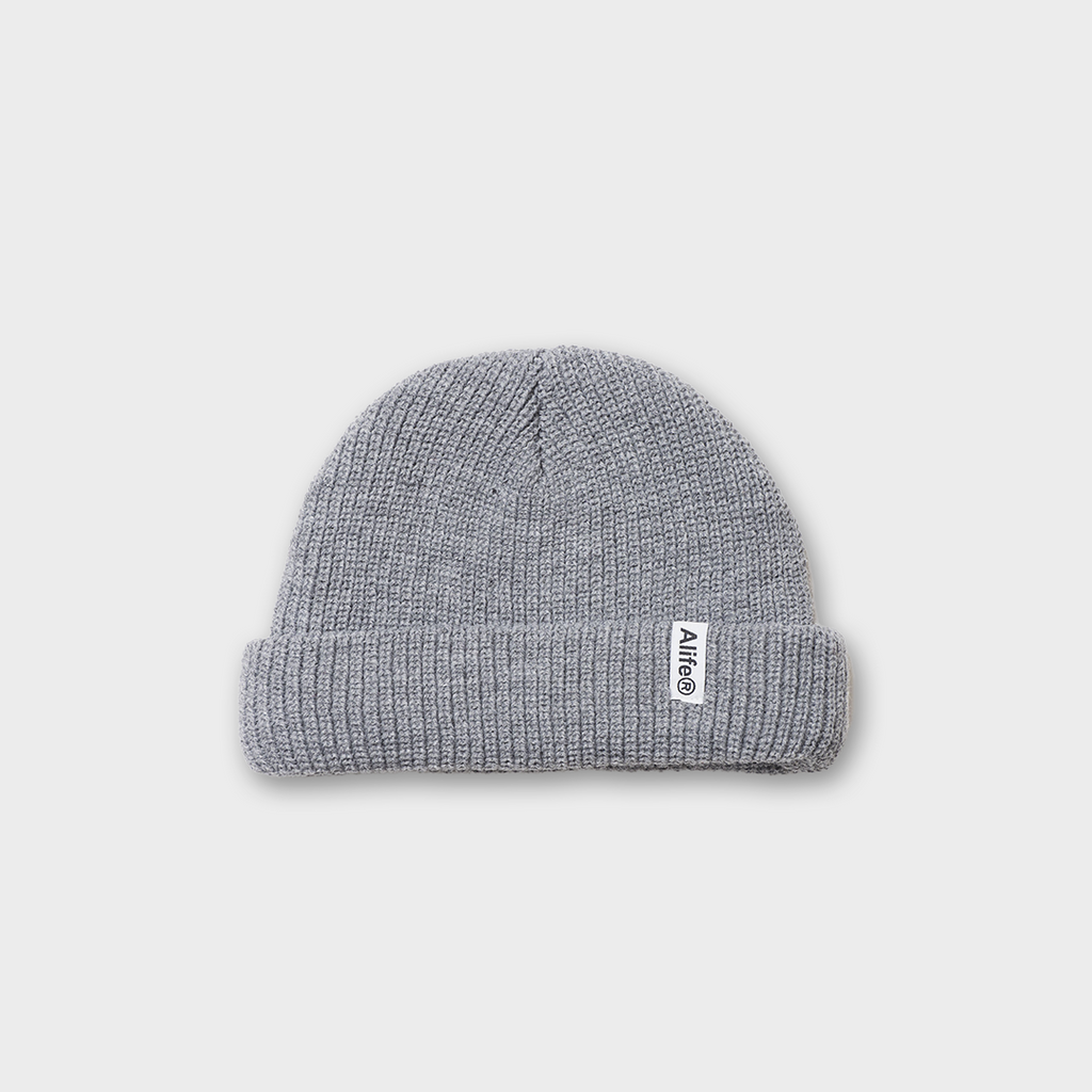 Alife New York Registered Beanie Hat - Alife Grey