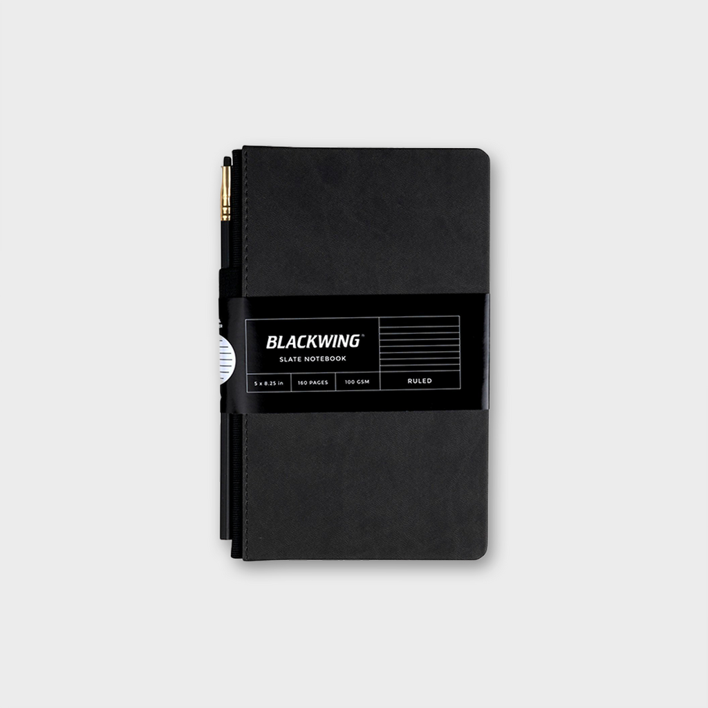 Blackwing Slate Notebook & Pencil - Ruled