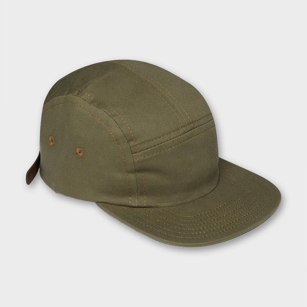 Ebbets Field Flannels USA Five Panel Cotton Cap - Jalapeno