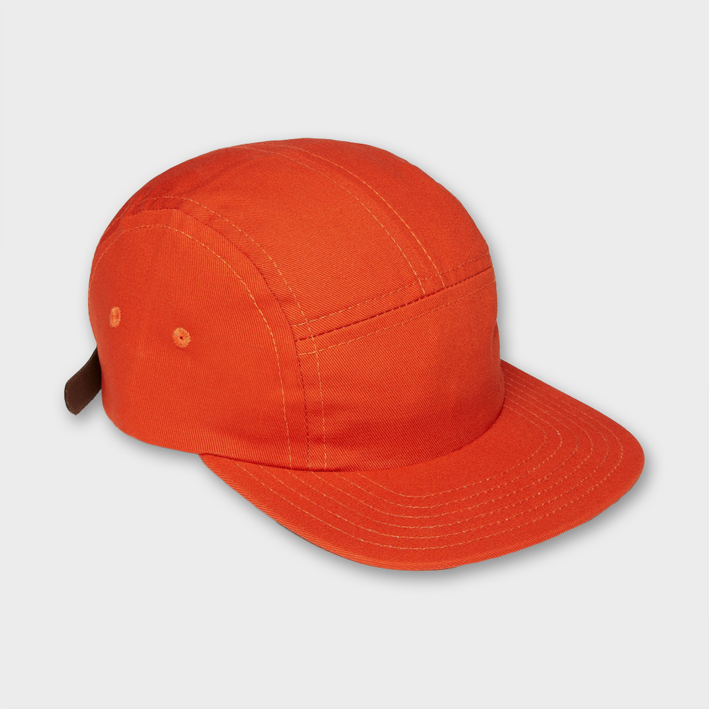 Ebbets Field Flannels USA Five Panel Cotton Cap - Orange
