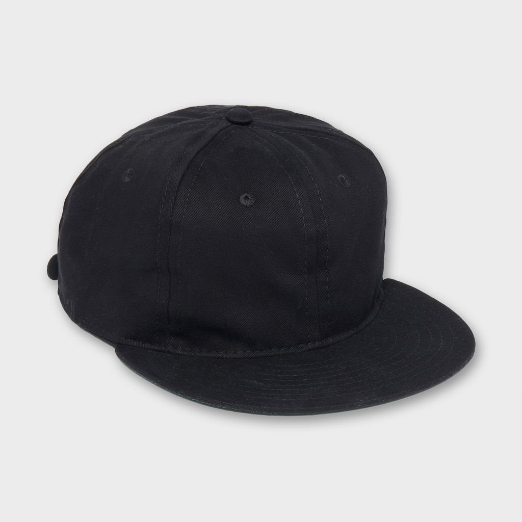 Ebbets Field Flannels USA Unlettered Cotton Cap - Black