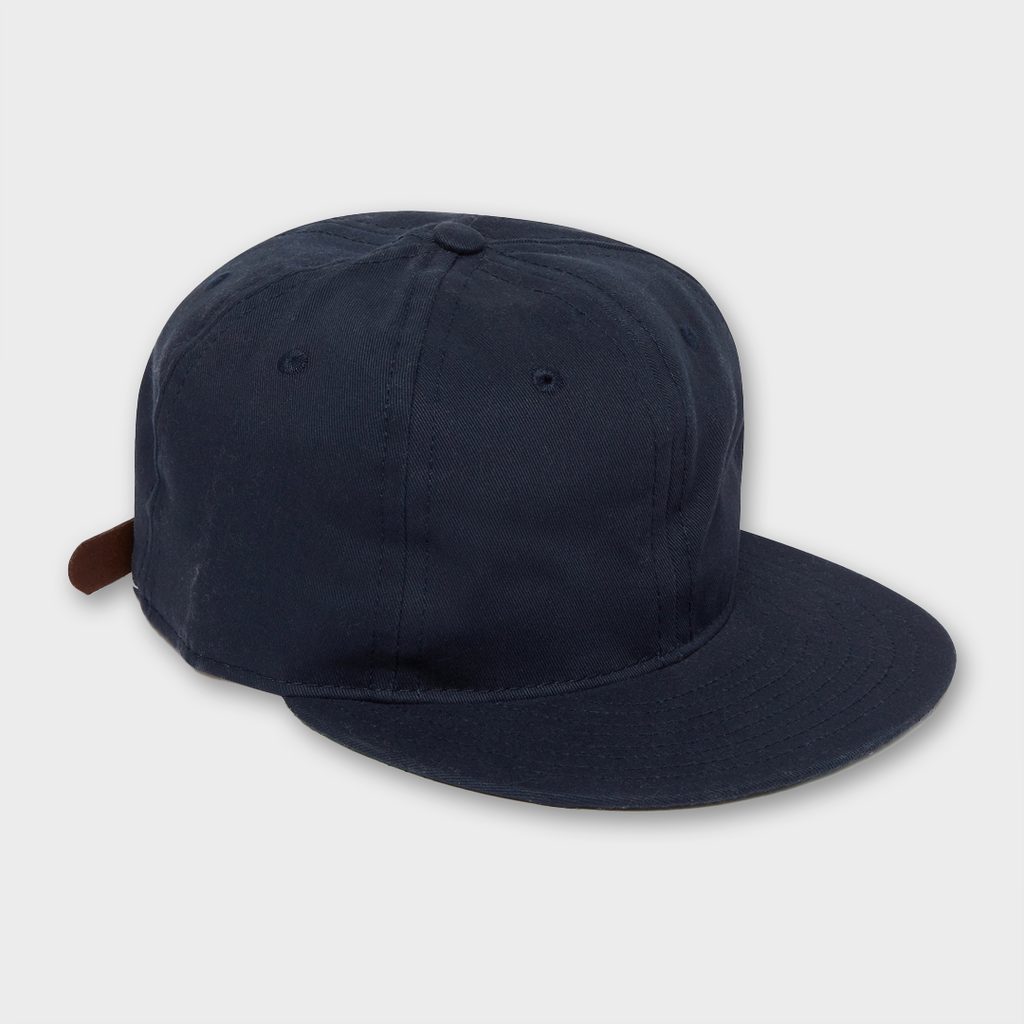 Ebbets Field Flannels USA Unlettered Cotton Cap - Navy