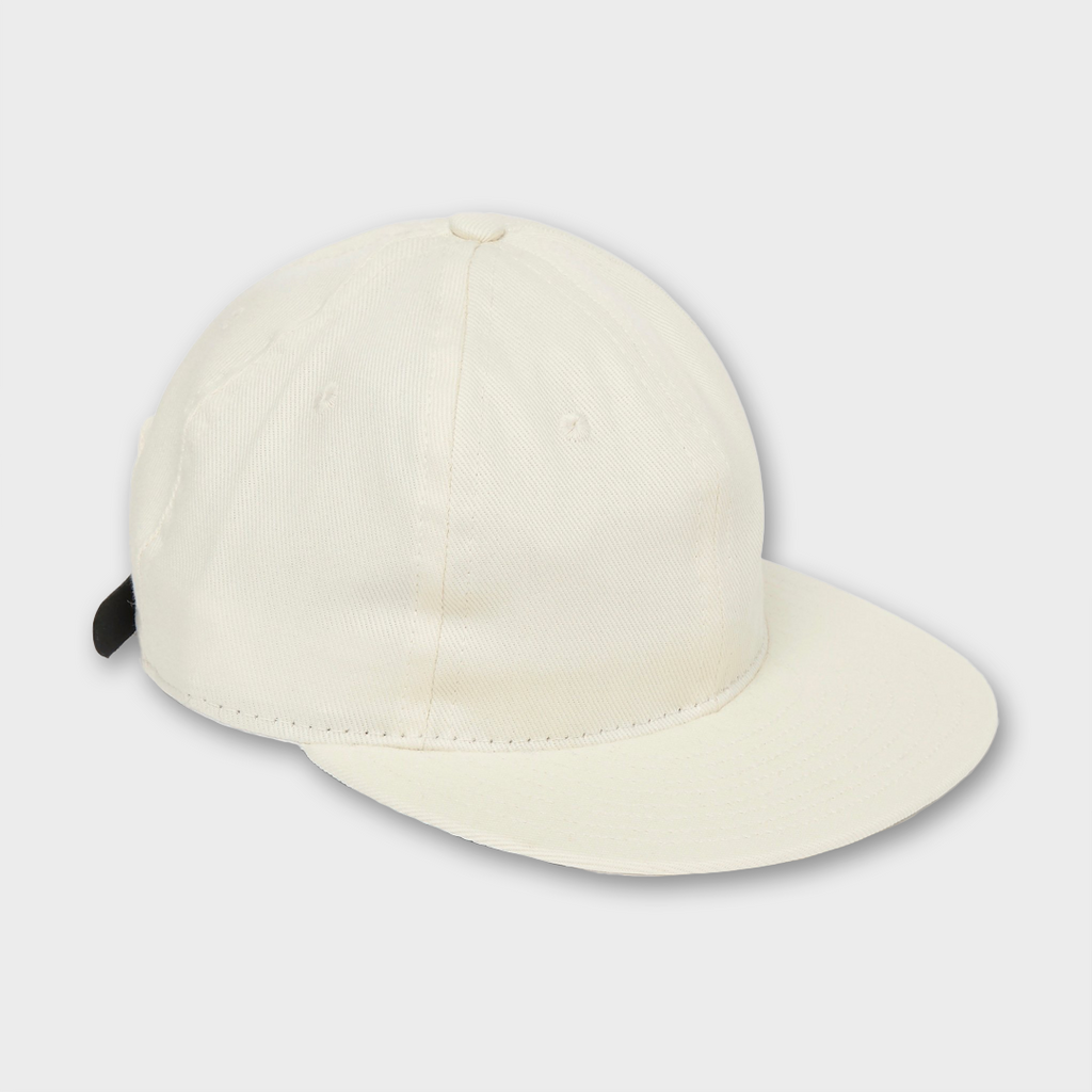 Ebbets Field Flannels USA Unlettered Cotton Cap - Off White