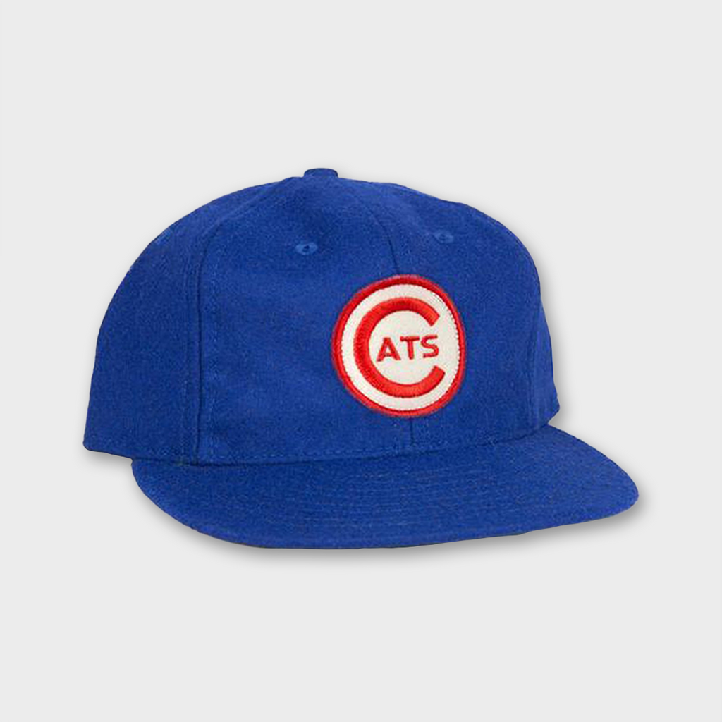 Ebbets Field Flannels USA Fort Worth Cats 1959 Vintage Ballcap - Royal Blue