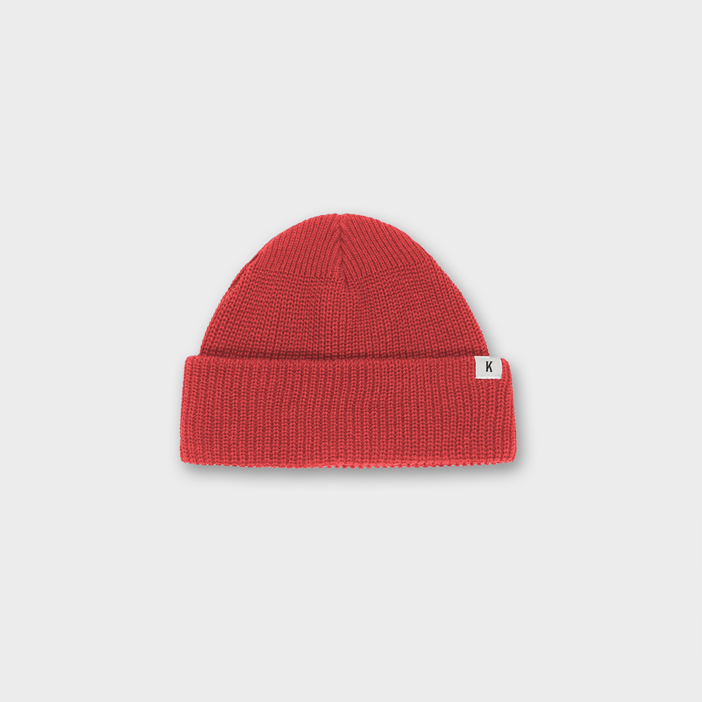 Knickerbocker New York Watch Cap Hat Type II - Red