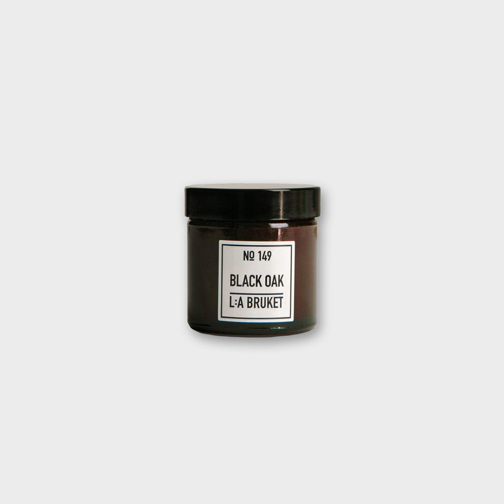LA: Bruket No 149 Scented Organic Candle 50g - Black Oak