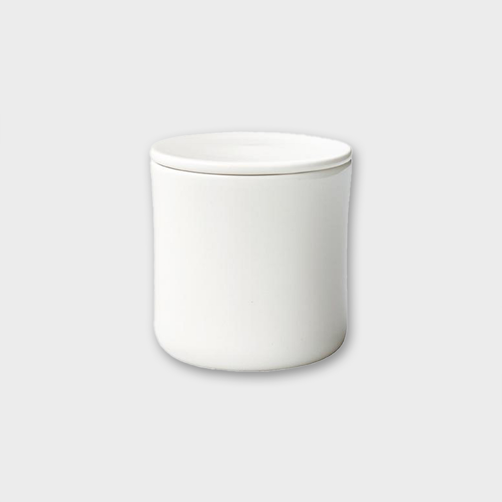 Kinto Japan SCS Coffee Canister Porcelain - White
