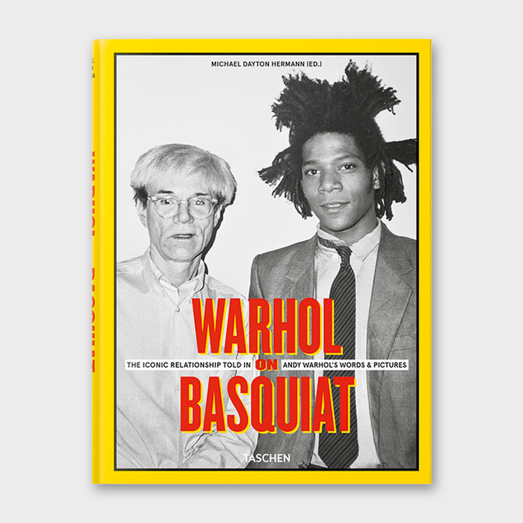 Warhol on Basquiat by Michael Dayton Hermann Book