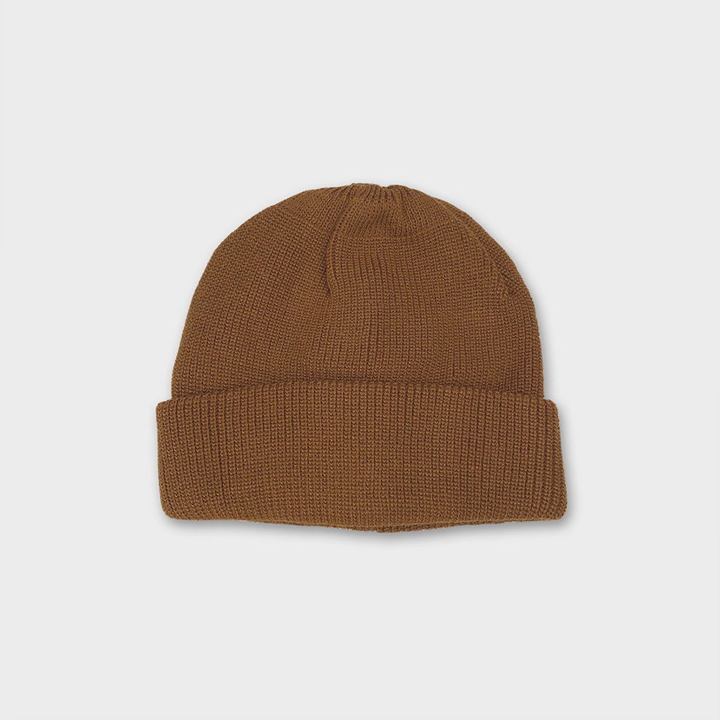 Ro To To Japan Bulky Watch Cap Hat - Light Brown