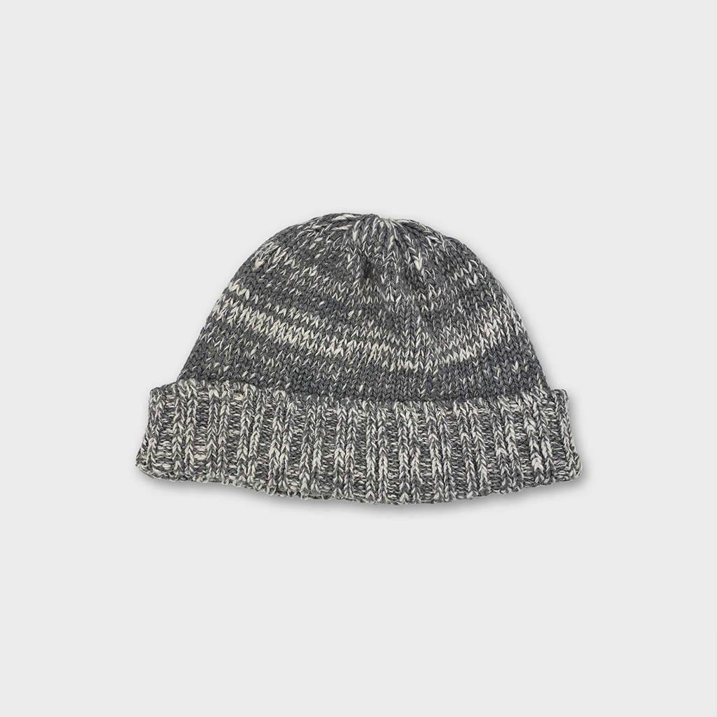 Ro To To Japan Low Gauge Slub Beanie Hat - Medium Grey