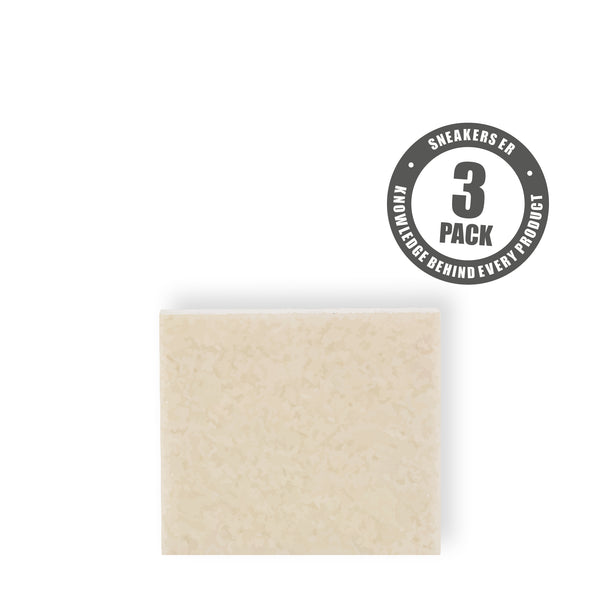 LAUNDRY - ERASER NATURAL RUBBER BLOCK (3 Pack)