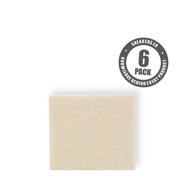 LAUNDRY - ERASER NATURAL RUBBER BLOCK (6 Pack)