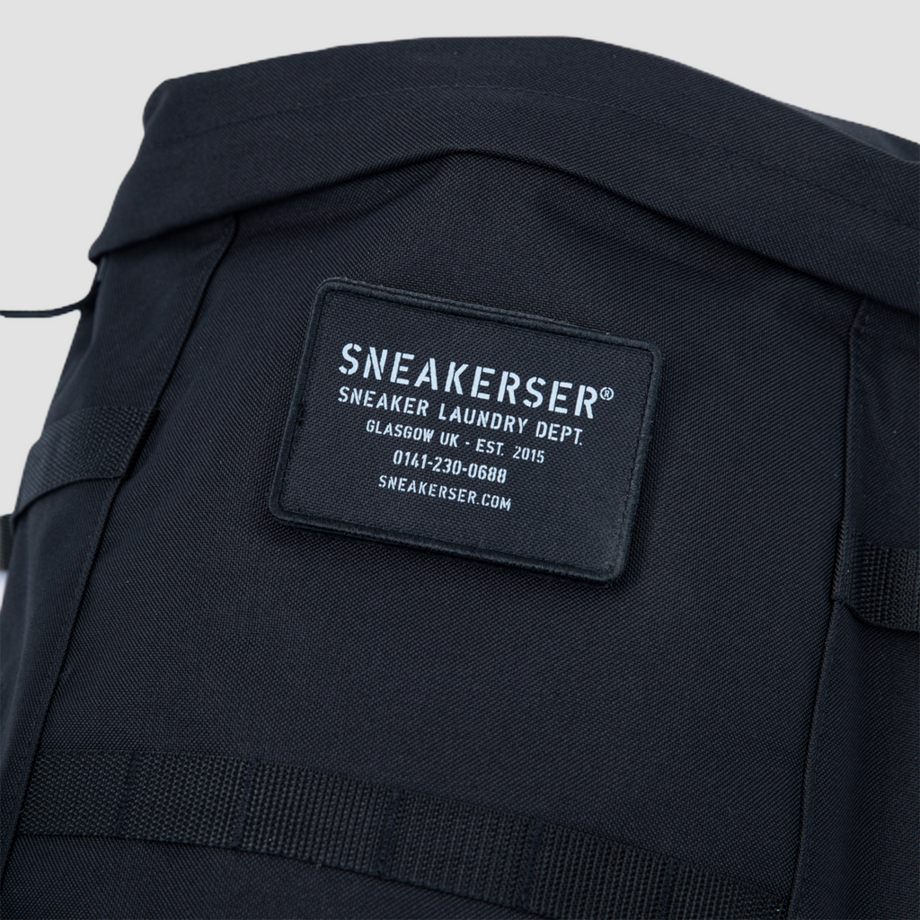 Sneakerser Urban Utility Backpack - Stealth Black / Iron