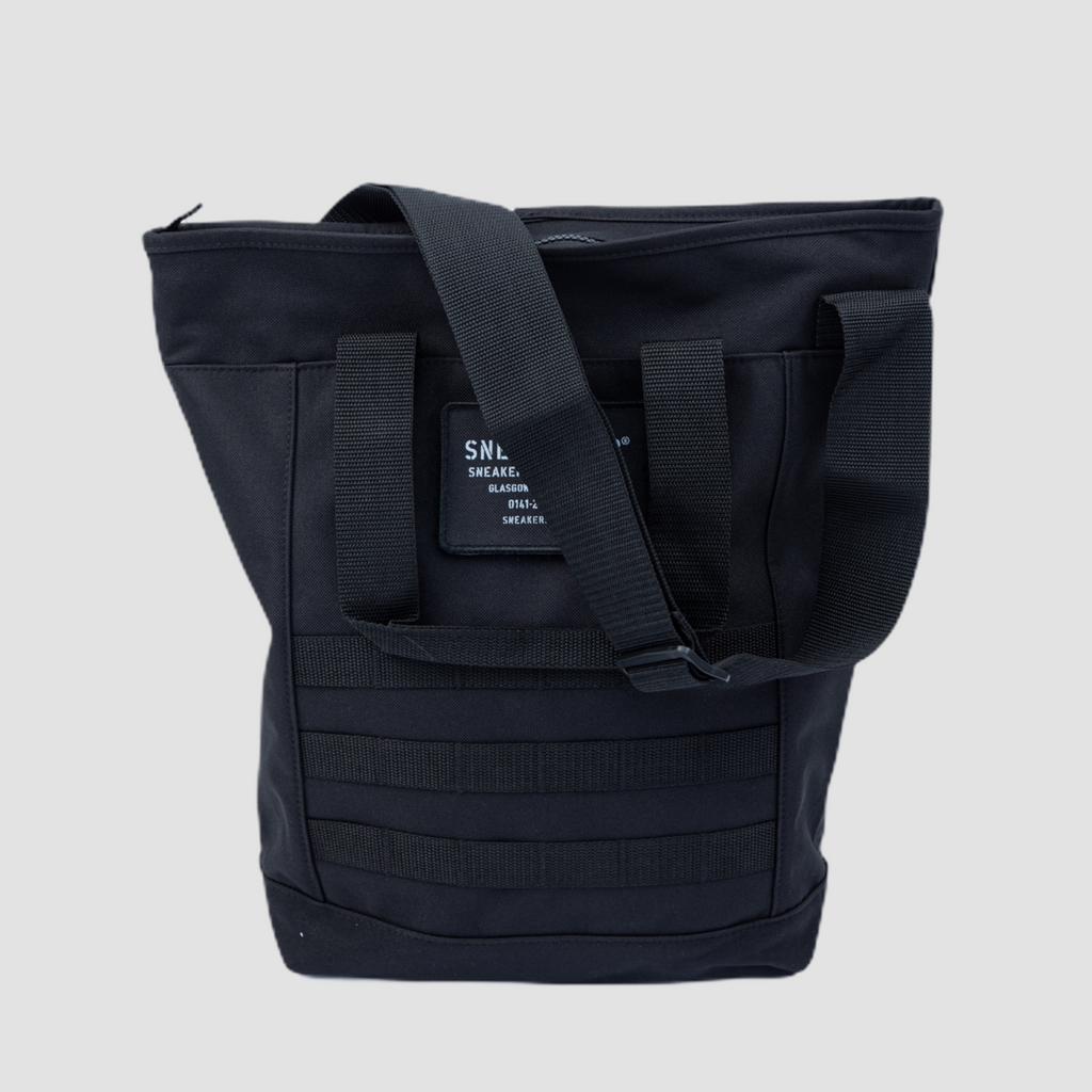 Sneakerser Urban Utility Tote Bag - Stealth Black / Iron