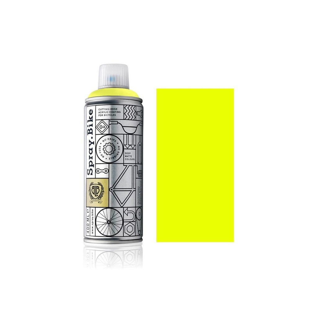 Spray.Bike Bike Paint Fluro collection - Yellow