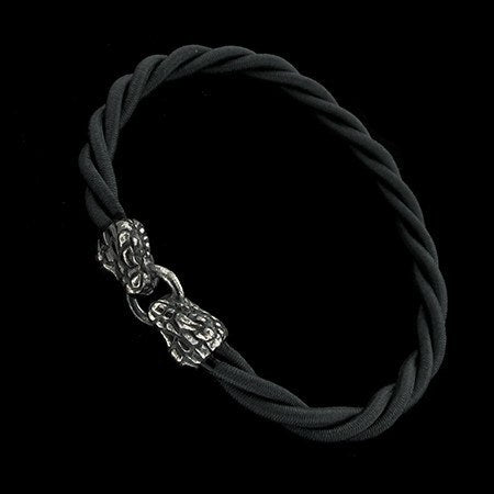 BRACELET - MATERIA ELASTICA WITH SNAKES