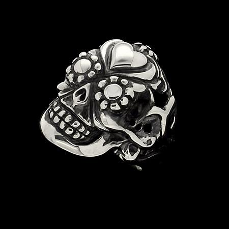 RING - SACRA MUERTE WITH HEART