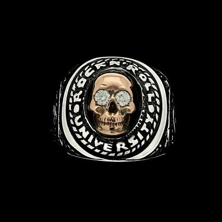 RING - UNIVERSITY OF ROCK 'N' SKULL