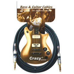 LEEM CGS-10 Crazy 10' Instrument Cable